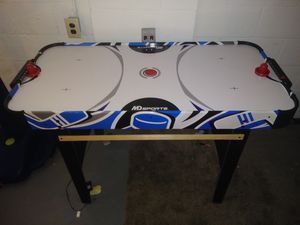 30obo Electronic Air hockey table asking 40obo for Sale in Galloway, OH