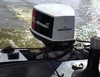 Johnson 135 hp outdoor motor for Sale in Cypress, TX
