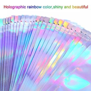 Wholesale holographic laser poly ziploc gift bag for Sale in Durham, NC