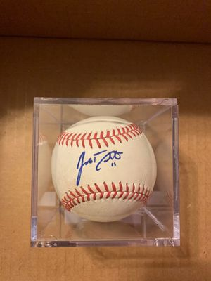 JT Realmuto Signed Baseball Marlins Phillies for Sale in Miami, FL