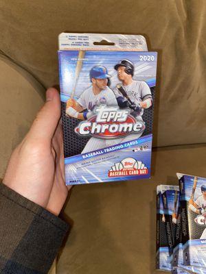 2020 Topps Chrome Baseball Hanger Box! for Sale in Happy Valley, OR