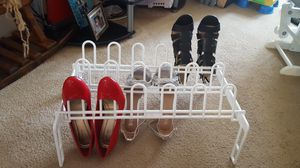 Shoe rack- holds 9 pairs of shoes for Sale in Dublin, OH