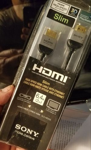 Sony Slim HDMI Cable - NEW! for Sale in Oak Park, IL