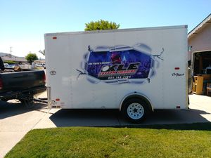 """2014 Pace Enclosed Trailer 6x12 x 6'6"""" height for Sale in Lompoc, CA"""