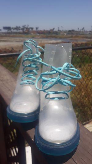 Drip Drop clear rain boots for Sale in San Diego, CA