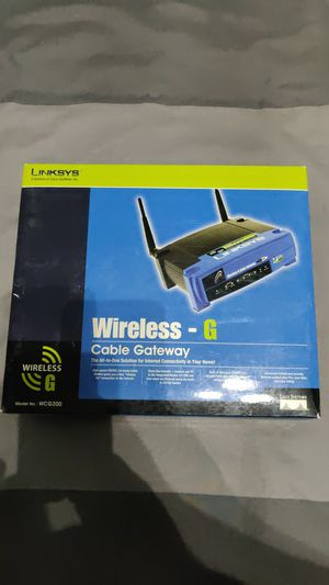 Linksys Wireless cable modem and router for Sale in Davenport, FL