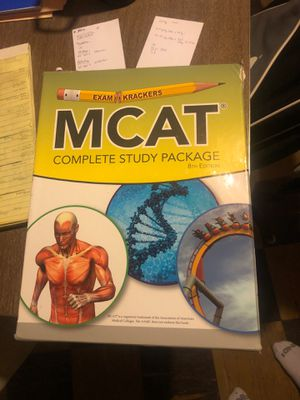 MCAT Exam Krackers 8th Edition Study Materials for Sale in Reedley, CA