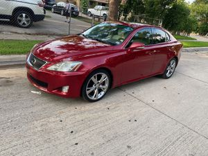 2010 Lexus is 250. Título limpio millas 100... for Sale in Fort Worth, TX