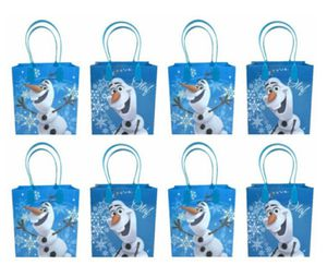 12 Disney frozen olaf birthday party favor goody gift candy bags. for Sale in Los Angeles, CA