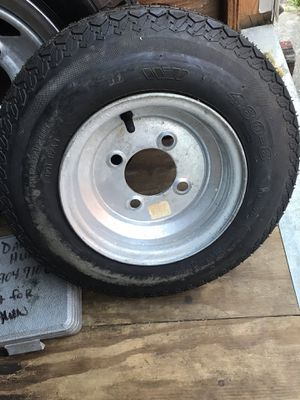 Trailer rim And tire 4.80-8 for Sale in Jacksonville, FL