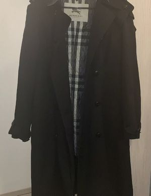 BLACK HOODED AUTHENTIC BURBERRY TRENCH COAT for Sale in Colorado Springs, CO