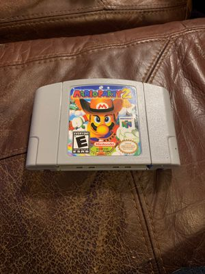 Mario party 2 n64 nintendo 64 for Sale in Worcester, MA