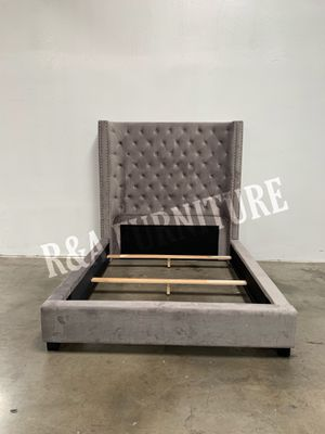 """QUEEN BED FRAME WITH 72"""" HEADBOARD for Sale in Phoenix, AZ"""