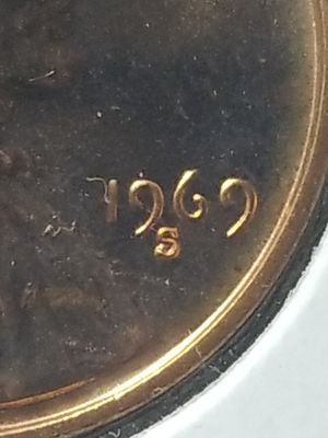 1969 S Rpm error penny proof for Sale in Las Vegas, NV