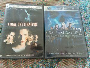 Dvd Set - Final Destination 1 & 2 for Sale in Menifee, CA