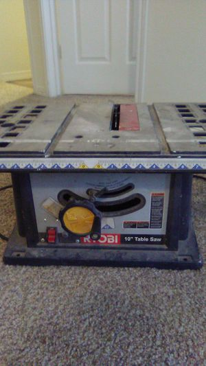 Ryobi 10 in table saw for Sale in Raymore, MO