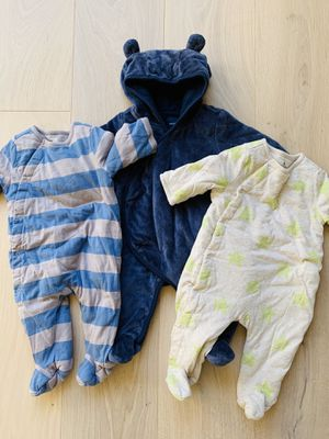 Gap Baby Clothes Bear Suit Padded Onesie Size 0-3 for Sale in Bellevue, WA