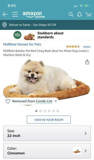 2 dog beds for crate for Sale in San Diego, CA