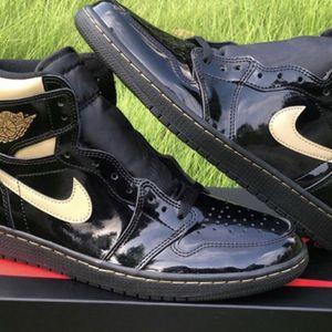 Jordan 1 Retro High Black/Gold for Sale in Atlanta, GA