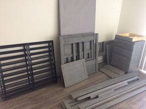 Madison Grey Twin Over Full Stairbed for Sale in Davenport, FL