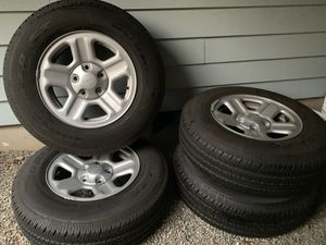 5 Jeep wheels and tires for Sale in Gig Harbor, WA