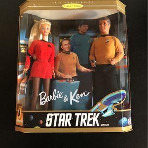 Star Trek Barbie & Ken (NIB) for Sale in Naperville, IL