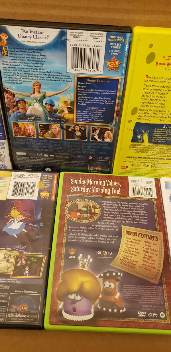 9 Kid DVD MOVIES