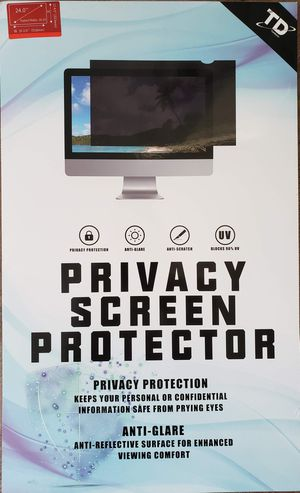 """TomDetm 24"""" Privacy Screen Filter for Sale in Land O Lakes, FL"""