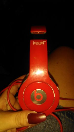 Beats by Dre solo red for Sale in Mesa, AZ