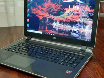 """15.6"""" HP Pavilion Laptop - Lite Gaming - 500g Storage - Window 10 - NEW BATTERY + charger for Sale in Roseville,  CA"""