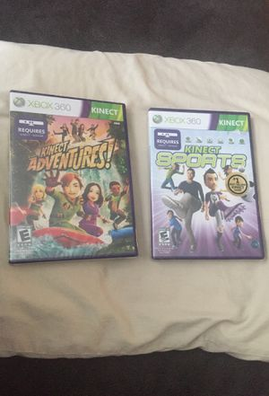 Xbox 360 Games ( Kinect adventures and Kinect sports ) for Sale in Hilliard, OH