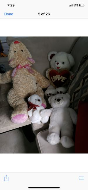 Stuffed animals (4) for Sale in Olney, MD