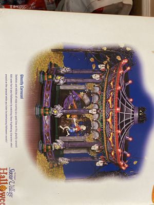 Ghostly Carousel- Dept 56 Halloween for Sale in Midland, TX