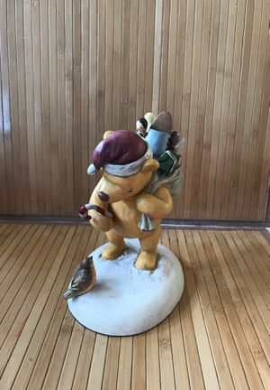 Classic Santa Pooh figurine for Sale in Cottage Grove, OR