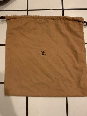 Louis Vuitton dust bag for Sale in Long Beach, CA