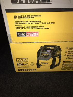 Dewalt 60v compressor for Sale in Lanham, MD