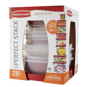 Rubbermaid 28pc Easy Find Lids Food Storage and Organization Containers for Sale in Lyndon, KY