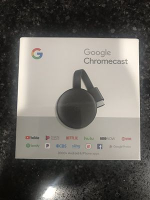 Google chromecast 3rd gen for Sale in Fort Lauderdale, FL