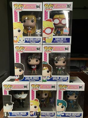 Sailor Moon Funko POP!'s for Sale in Everett, WA
