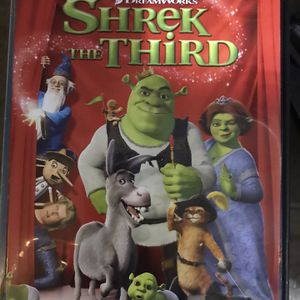 Shrek The Third Dvd Movie for Sale in Elma, WA