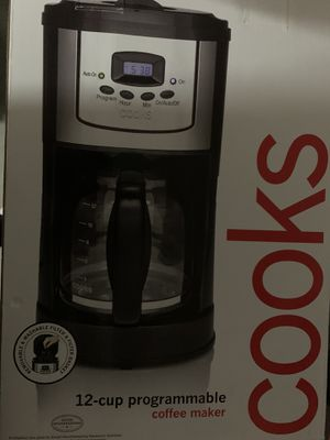 Cooks 12 cup programable coffee maker for Sale in Casselberry, FL