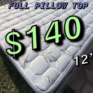 BRAND NEW PILLOW TOP MATTRESSES💯 Warranty/Garantía ‼️⚠️ $20 Delivery Fee ‼️ ✅ LOCATED IN LOS ANGELES CA ✅ (EK/CK )King Mattress $250 ❌ $330 With for Sale in Beverly Hills, CA