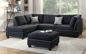 SECTIONAL NEW IN BOX BROWN WITH 2 Free Pillows Sofa Couch MUEBLE ELE NUEVO EN SU CAJA for Sale in Miami, FL
