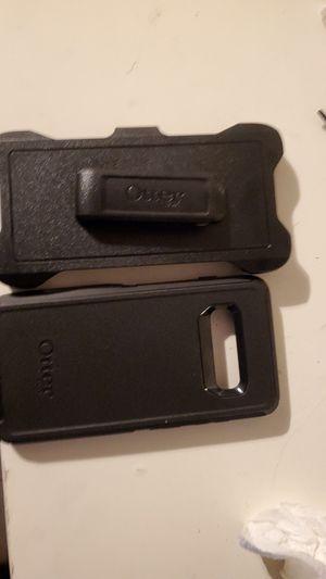 Samsung galaxy s10+ otter deffender case w/ belt holder for Sale in Los Angeles, CA