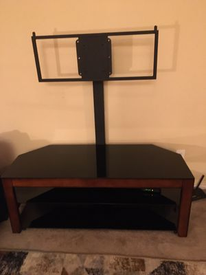 """Beautiful Glass 55"""" inch TV stand for Sale in Henderson, NV"""