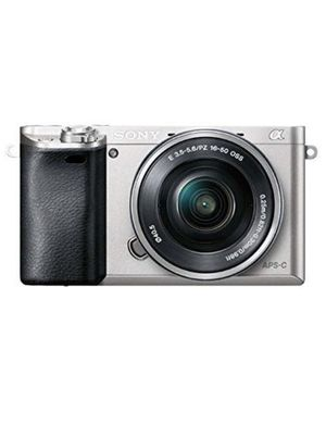 Sony Alpha A6000 Wi-Fi Digital Camera & 16-50mm Lens (Silver) Brand New In Box for Sale in Eugene, OR