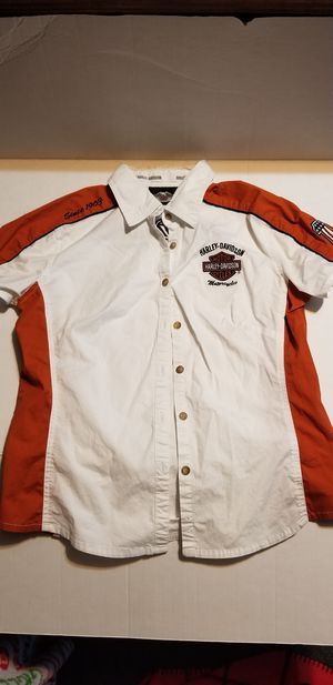 BOY'S HARLEY DAVIDSON MOTORCYCLE SHIRT SZ.M for Sale in Fort Smith, AR
