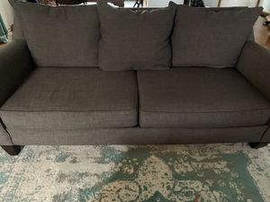 Dark grey couch for Sale in Stoutsville, OH