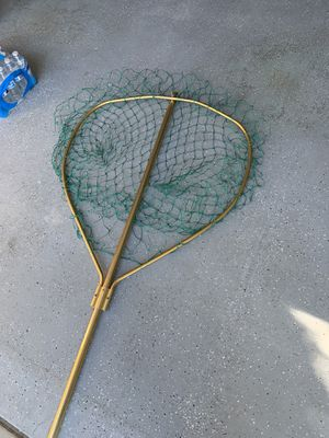 Salmon fishing net nice 36 inches for Sale in Manteca, CA