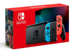 Nintendo Switch with Neon Blue and Neon Red Joy‑Con for Sale in Orlando, FL